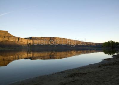 Banks Lake Reflection
