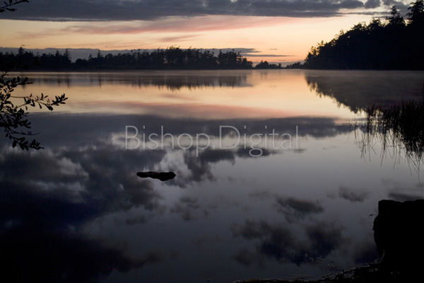Cranberry Lake Sunset