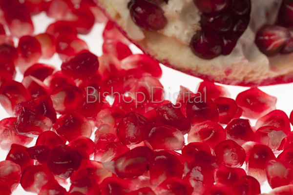Scattered Pomegranate Seeds