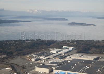 Boeing Plant in Everett Washington